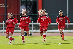 Hannah Reid of Bristol City Women - Mandatory byline: Rogan Thomson/JMP - 14/02/2016 - FOOTBALL - Stoke Gifford Stadium - Bristol, England - Bristol City Women v Queens Park Rangers Ladies - SSE Women's FA Cup Third Round Proper.