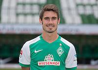 German Soccer Bundesliga 2015/16 - Photocall of Werder Bremen on 10 July 2015 in Bremen, Germany: Fin Bartels