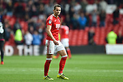 Nottingham Forest midfielder Chris Cohen (8) during the EFL Sky Bet Championship match between Nottingham Forest and Reading at the City Ground, Nottingham, England on 22 April 2017. Photo by Jon Hobley.