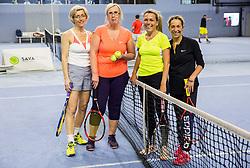 na drzavnem prvenstvu veteranskih dvojic v tenisu, 24. marec 2018, BTC Millenium center, Ljubljana, Slovenia. Photo by Vid Ponikvar / Sportida