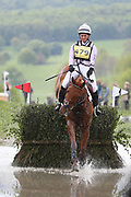 Gemma Tattersall riding Tillingbourne during the International Horse Trials at Chatsworth, Bakewell, United Kingdom on 12 May 2018. Picture by George Franks.