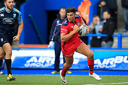 Ben Mosses of Bristol Rugby scores their third try - Mandatory by-line: Ian Smith/JMP - 20/08/2016 - RUGBY - BT Sport Cardiff Arms Park - Cardiff, Wales - Cardiff Blues v Bristol Rugby - Pre-season friendly