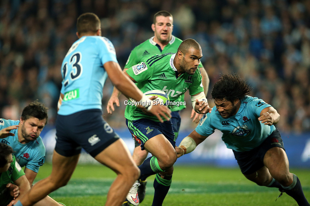 Patrick Osbourne, NSW Waratahs v Otago Highlanders Semi Final. Sport Rugby Union Super Rugby Domestic Provincial. Allianz Stadium SFS. 27 June 2015. Photo by Paul Seiser/SPA Images