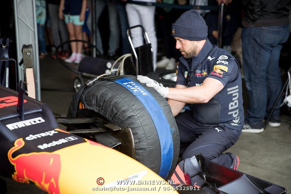 NLD/Zandvoort/20180520 - Jumbo Race dagen 2018, Red Bull Formule 1 auto