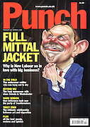 Punch. (Caricature of Tony Blair. Front cover, 20 February 2002)