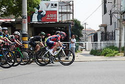Head of the race on lap two at Tour of Chongming Island 2018 - Stage 3, a 126.5 km road race on Chongming Island on April 28, 2018. Photo by Sean Robinson/Velofocus.com