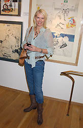 ANNEKA RICE at a party to celebrate the publication of Drawing Blood -Forty-Five Years of Scarfe Uncensored, a book of Gerald Scarfe's work held at The Fine Arts Society, New Bond Street, London on 3rd November 2005.<br /><br />NON EXCLUSIVE - WORLD RIGHTS