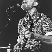 Pete Seeger, singer songwriter, Carnegie Hall, NY 1982