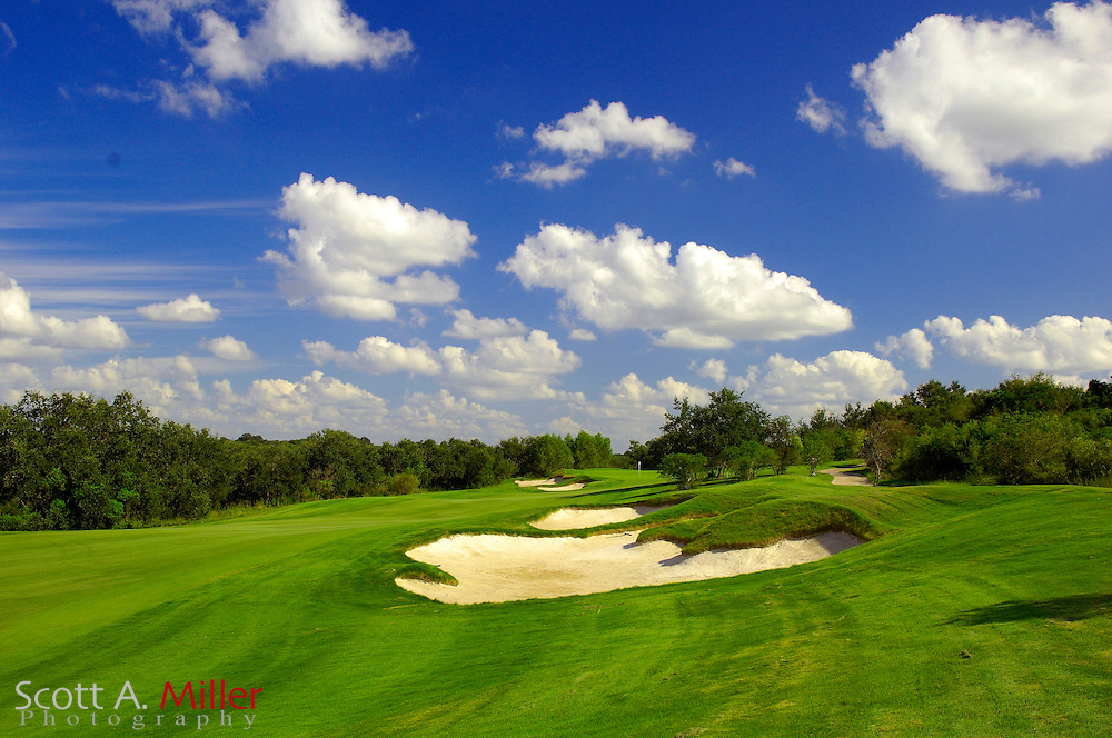 September 7, 2007, San Antonio, Texas; Hole No. 2 at the Briggs Ranch Golf CLub...                ©2007 Scott A. Miller