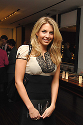 STEPHANIE COATEN at a Valentine's Party in aid of Chickenshed held at De Beers, 50 Old Bond Street, London W1 on 6th Fbruary 2008.<br /><br />NON EXCLUSIVE - WORLD RIGHTS