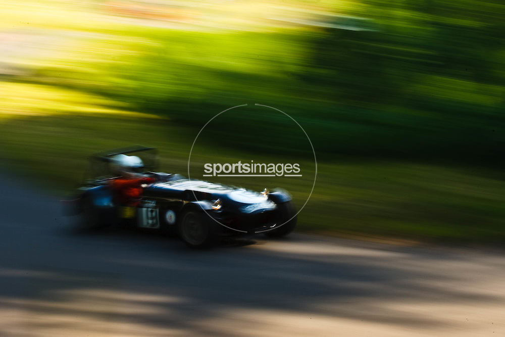 Car number 19 (driven by Jerry Neary) at Shelsley Hill climb 6/6/10