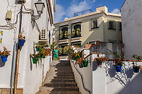 Spain, Estepona, Malaga Province, Spain, old town, 201810085217<br /> <br /> Copyright Image from Victor Patterson, Belfast, UK, BT9 5HG<br /> <br /> t: +44 28 9066 1296 (from Rep of Ireland 048 9066 1296)<br /> m: +44 7802 353836<br /> <br /> victorpattersonbelfast@gmail.com<br /> www.victorpatterson.com<br /> <br /> Please see my Terms and Conditions of Use at https://www.victorpatterson.com/page2<br /> It is IMPORTANT that you familiarise yourself with them.<br /> <br /> Images used on the Internet incur an additional cost and must be visibly watermarked i.e. © Victor Patterson within the body of the image and copyright metadata must not be deleted. Images used on the Internet have a size restriction of 4kbs and are chargeable at rates available at victorpatterson.com.<br /> <br /> This image is only available for the use of the download recipient i.e. television station, newspaper, magazine, book publisher, etc, and must not be passed on to any third party. It is also downloaded on condition that each and every usage is notified within 7 days to victorpattersonbelfast@gmail.com.<br /> <br /> The right of Victor Patterson to be identified as the author is asserted in accordance with The Copyright Designs And Patents Act (1988). All moral rights are asserted.