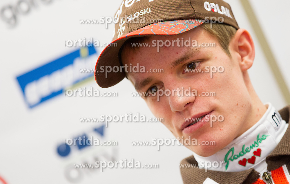 Matjaz Pungertar during press conference Slovenian Nordic Ski Jumping team of Ski Association of Slovenia (SZS) on January 22, 2013 in Ljubljana, Slovenia. (Photo By Vid Ponikvar / Sportida.com)