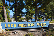 Lake Mission Viejo Signage in Orange County