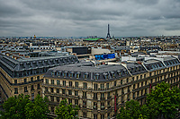 Lafayette Maison (House) & Rooftops of Paris