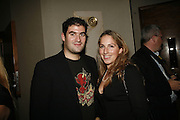 Zafar Rushdie and Fiona Mackenzie-Johnstone. Stelle d'Italia. Celebration of Italian design, fashion and style hosted by Luca del Bono. The Roof Gardens. Kensington High St. London. 22 September 2006. ONE TIME USE ONLY - DO NOT ARCHIVE  © Copyright Photograph by Dafydd Jones 66 Stockwell Park Rd. London SW9 0DA Tel 020 7733 0108 www.dafjones.com