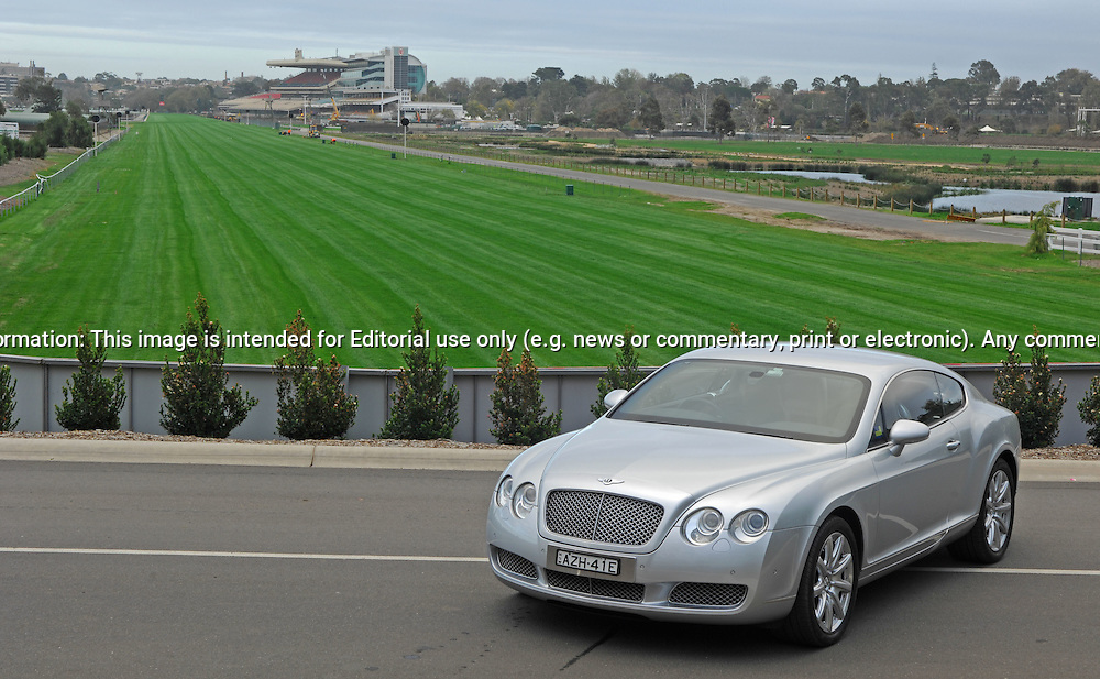 2007 Bentley Continental GT.Flemington Race Course, Flemington, Victoria .8th May 2007 .(C) Joel Strickland Photographics.Use information: This image is intended for Editorial use only (e.g. news or commentary, print or electronic). Any commercial or promotional use requires additional clearance.
