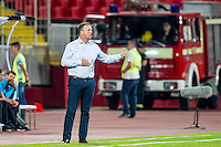NOVI SAD - 18-08-2016, Vojvodina - AZ, Karadjordje Stadion, AZ trainer John van den Brom