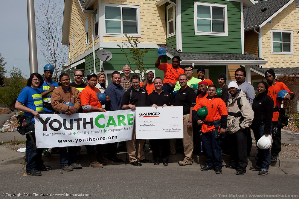 YouthBuild, run by YouthCare.