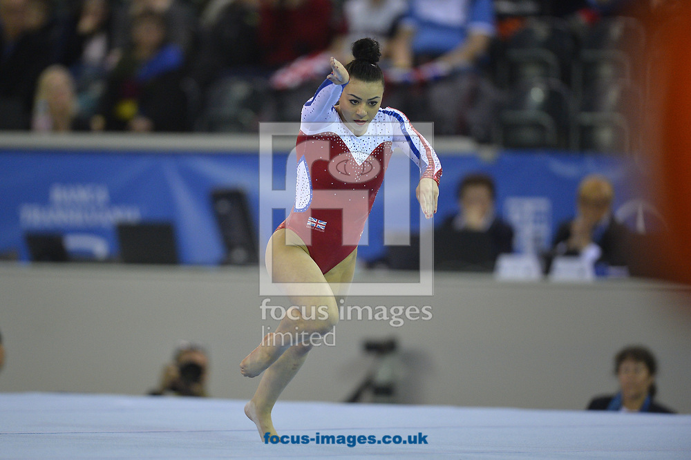 Claudia Fragapane(GBR) on day two of the Petrom European Men's and Women's Artistic Gymnastics Individual Championships at Polyvalent Hall, Cluj-Napoca, Romania<br /> Picture by Raphael Serres/Focus Images Ltd +40 7445 88839<br /> 20/04/2017