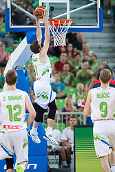 Goran Dragic of Slovenia during friendly match between National teams of Slovenia and France for Eurobasket 2013 on August 31, 2013 in Arena Stozice, Ljubljana, Slovenia. (Photo by Matic Klansek Velej / Sportida.com)
