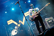 Weezer performs at The Bamboozle music festival, May 2, 2010. East Rutherford, NJ.