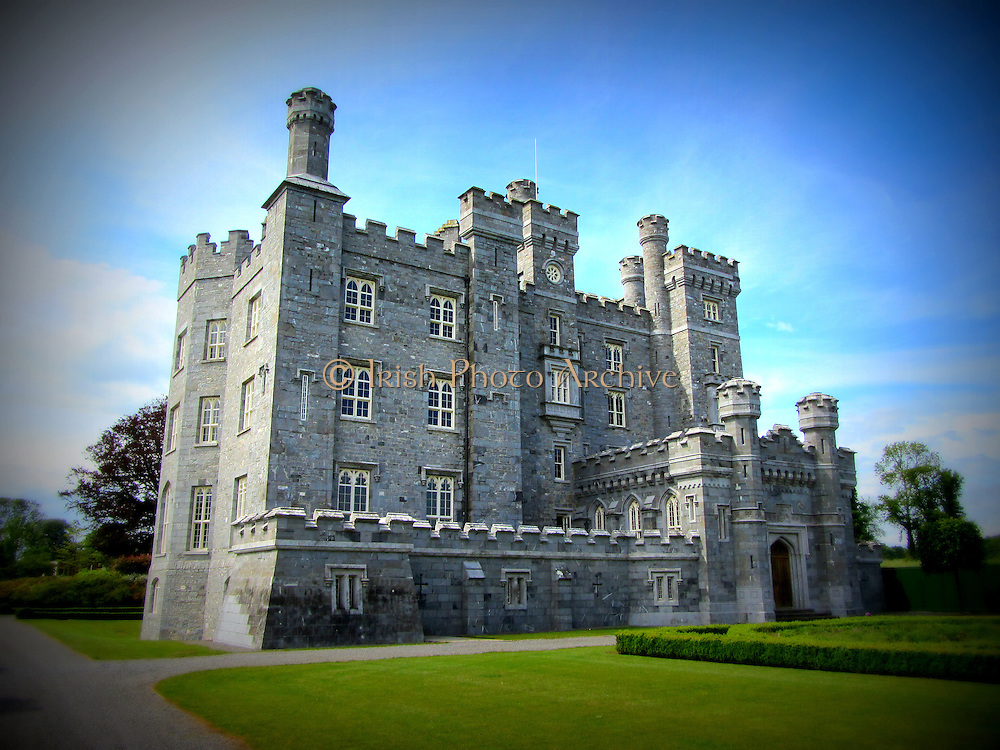 Killeen Castle, Dunsany, Meath, built c.1820,
