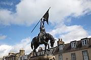 1514 Memorial statue, Hawick, Roxburghshire, Scotland, UK