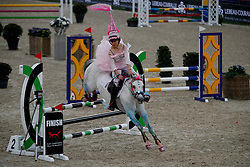 Pony competition<br /> Ponies Knock-out<br /> Jumping Antwerpen 2017<br /> © Hippo Foto - Dirk Caremans<br /> 21/04/2017