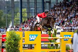 GUERY Jérome (BEL), Quel Homme de Hus <br /> Aachen - CHIO 2019<br /> Mercedes-Benz Nationenpreis - 1. Umlauf<br /> Mannschaftsspringprüfung mit zwei Umläufen<br /> 18. Juli 2019<br /> © www.sportfotos-lafrentz.de/Stefan Lafrentz