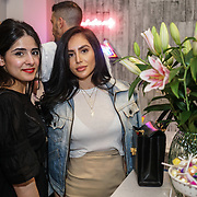 Alexandra Osman blogger & Alicia smith - Aesthetic Obsessed attends the Threads & Co Beauty launches permanent retail concept store everything from coffee to beauty to retail therapy on 24th May 2017. by See Li