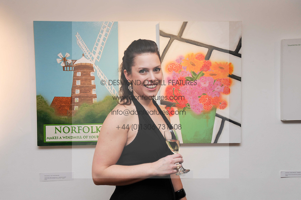 Artist KATE ENTERS At A Private View Of Her Paintings Held 9 Adam Street