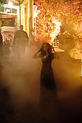 MARINA GRETHEN; ,  IVth annual BloodLust Ball  Hampton Court House. Hampton Court. London. 31 October 2009