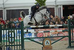 De Luca Lorenzo, (ITA), Limestone Grey<br /> CSI4* Qualifikation DKB-Riders<br /> Horses & Dreams meets Denmark - Hagen 2016<br /> © Hippo Foto - Stefan Lafrentz