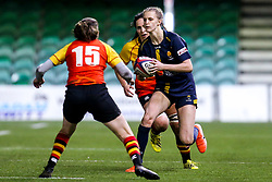 Vicky Laflin of Worcester Warriors Women takes on Jessica Wooden of Richmond Women - Mandatory by-line: Robbie Stephenson/JMP - 11/01/2020 - RUGBY - Sixways Stadium - Worcester, England - Worcester Warriors Women v Richmond Women - Tyrrells Premier 15s