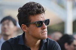 October 28, 2017 - Greg Van Avermaet (BEL) from BMC Racing team, during the 1st TDF Shanghai Criterium 2017 - Media Day..On Saturday, 28 October 2017, in Shanghai, China. (Credit Image: © Artur Widak/NurPhoto via ZUMA Press)