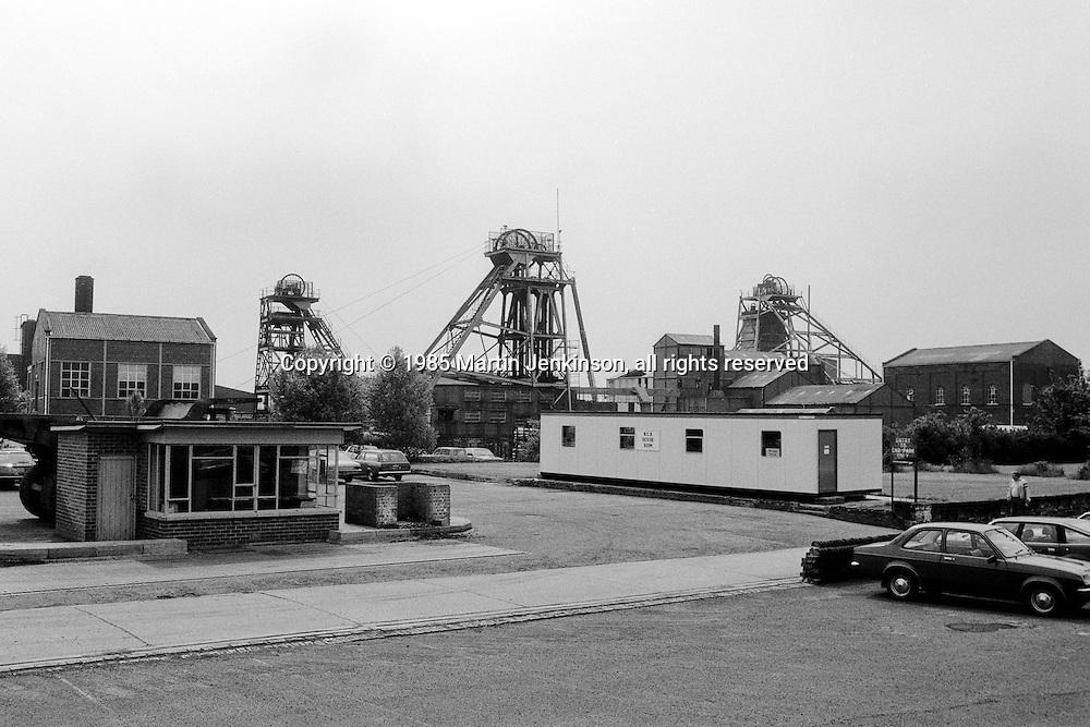 Darfield Main Colliery, Wombwell. National Coal Board Barnsley Area. 19-06-1985.