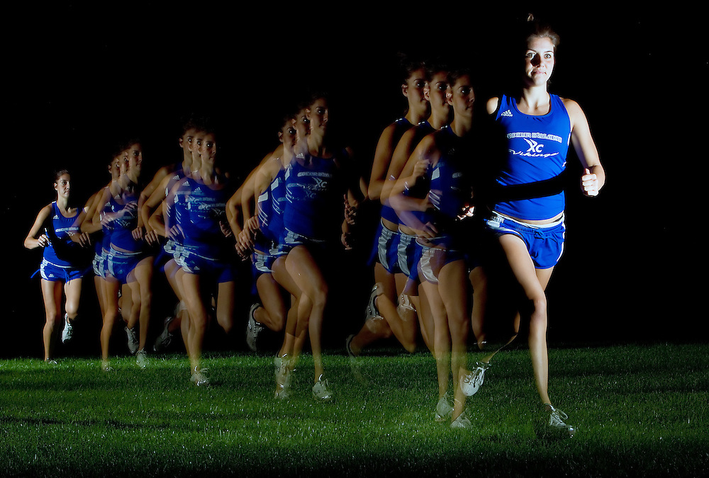 Coeur d'Alene High's Kinsey Gomez dominated the state cross-country scene last year and hopes to continue her streak her senior year.