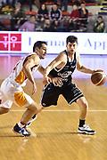 DESCRIZIONE : Roma Lega A 2014-15 Acea Roma Granarolo Bologna<br /> GIOCATORE : Matteo Imbro<br /> CATEGORIA : palleggio sequenza<br /> SQUADRA : Granarolo Bologna<br /> EVENTO : Campionato Lega A 2014-2015<br /> GARA : Acea Roma Granarolo Bologna<br /> DATA : 04/01/2015<br /> SPORT : Pallacanestro <br /> AUTORE : Agenzia Ciamillo-Castoria/GiulioCiamillo<br /> Galleria : Lega Basket A 2014-2015<br /> Fotonotizia : Roma Lega A 2014-15 Acea Roma Granarolo Bologna