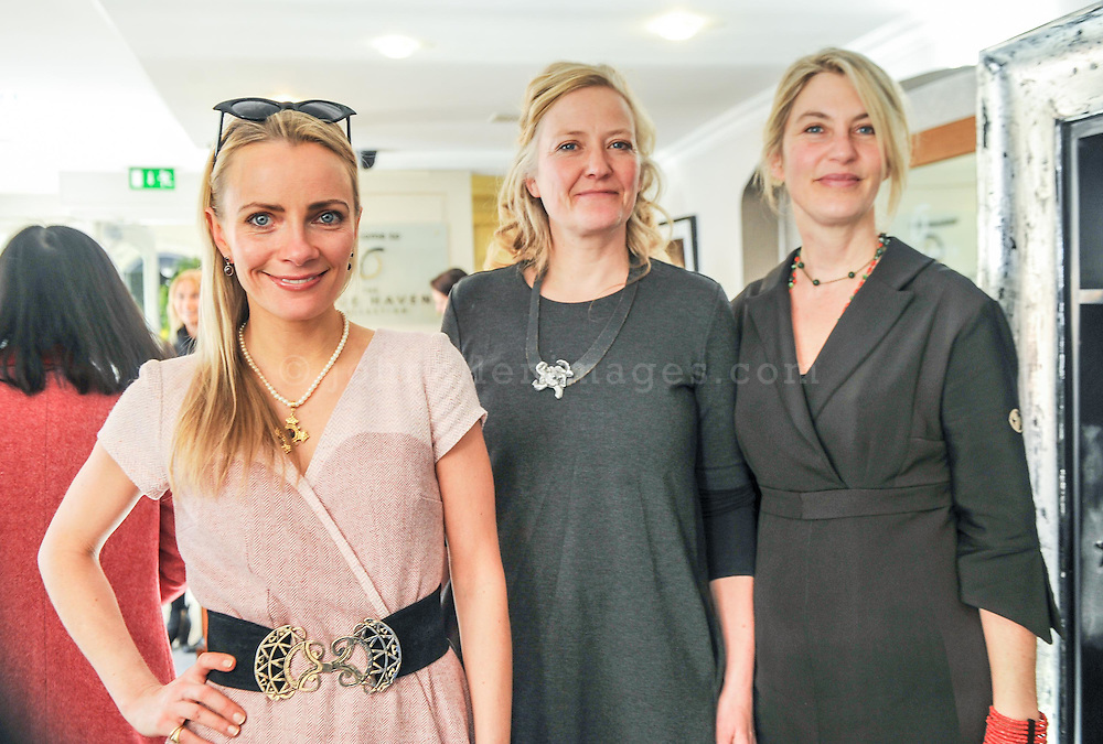 REPRO FREE<br /> Charlotte Cargin, Charlotte and Jane with sisters Helle Hesner from H2 Studio and Jane Skovgard from Charlotte and Jane pictured at the Irish Fashion Design Showcase organised by frock advisor and Wear We Wander at the Blue Haven Hotel in Kinsale.<br /> Picture. John Allen<br /> <br /> For immediate release - Contact &amp; Enquiries for further details Bronwyn Connolly 0894389844<br /> <br /> Frockadvisor, Ireland's only Fashion app supporting independent boutiques and designers teamed up with online Ethical Fashion Boutique, Wear we Wander, to showcase and celebrate the very best in Irish Fashion Design in the stunning setting of Aperitif at The Blue Haven, Kinsale. Guests previewed SS16 Collections from well known Irish Designers including Alice Halliday, Charlotte &amp; Jane, Wear we Wander, Celtic Fusion, Mamukko,&amp;  Helle Helsner. While indulging Handmade Irish Chocolate, Wine and Tapas, all while listening to the haunting sounds of the Harp. Guests were truly immersed in the very fantastic display of Irish Design &amp; Fashion. <br /> <br /> frockadvisor is the brain child of Fashion Gurus Brendan Courtney and Sonya Lennon, who between them have many industry years under their beautifully crafted belts. Their careers have included TV broadcasting, styling, journalism and designing.<br /> Using all that knowledge, they developed frockadvisor, through a deep understanding of the industry and a clear sense of what the customer wants. Independent retailers, designers and their customers love each other and are driven by a common search for something different. Fashion is magic and the experience of being advised and assisted by people who you respect and trust is much more beautiful than simply pressing &lsquo;buy it now&rsquo;. frockadvisor is pioneering a new kind of customer experience and providing boutique and designers an opportunity to connect with fashion lovers on a whole new level. <br /> <br /> frockadvisor is delighted be involved w