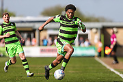 Forest Green Rovers Reuben Reid(26) runs forward during the EFL Sky Bet League 2 match between Forest Green Rovers and Grimsby Town FC at the New Lawn, Forest Green, United Kingdom on 5 May 2018. Picture by Shane Healey.