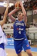 DESCRIZIONE : Ortona Italy Italia Eurobasket Women 2007 Serbia Italia Serbia Italy <br /> GIOCATORE : Kathrin Ress <br /> SQUADRA : Nazionale Italia Donne Femminile EVENTO : Eurobasket Women 2007 Campionati Europei Donne 2007 <br /> GARA : Serbia Italia Serbia Italy <br /> DATA : 01/10/2007 <br /> CATEGORIA : Tiro <br /> SPORT : Pallacanestro <br /> AUTORE : Agenzia Ciamillo-Castoria/S.Silvestri Galleria : Eurobasket Women 2007 <br /> Fotonotizia : Ortona Italy Italia Eurobasket Women 2007 Serbia Italia Serbia Italy <br /> Predefinita :