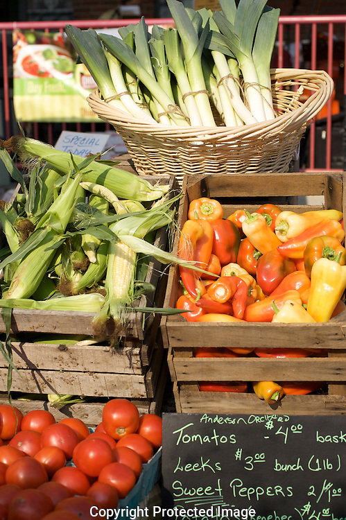 North Market Farmer's Market, Columbus, Ohio..A festival of farmers, local food and agriculture.