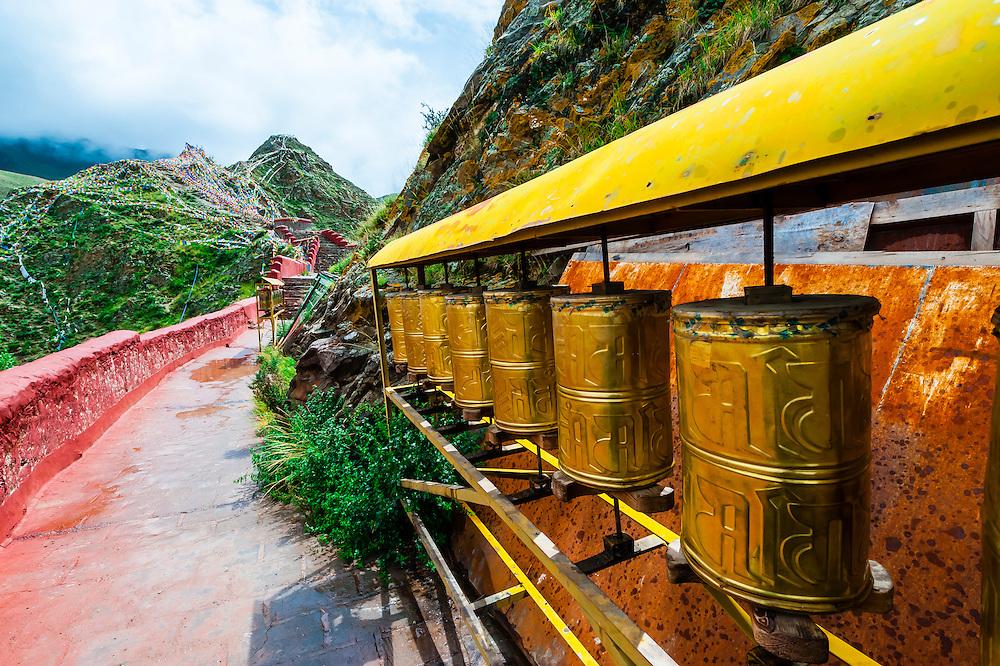 Yambulakhang Palace, Tibet(Xizang), China.