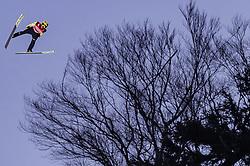 02.02.2019, Heini Klopfer Skiflugschanze, Oberstdorf, GER, FIS Weltcup Skiflug, Oberstdorf, im Bild Noriaki Kasai (JPN) // Noriaki Kasai of Japan during his Jump of FIS Ski Jumping World Cup at the Heini Klopfer Skiflugschanze in Oberstdorf, Germany on 2019/02/02. EXPA Pictures © 2019, PhotoCredit: EXPA/ JFK