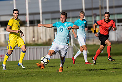 Jan Repas of Slovenia during football match between Slovenia and Kazahstan in Qualifying round for European Under-21 Championship 2019, on September 11, 2018 in Mestni Stadium Ptuj, Slovenija, 2018. Photo Grega Valancic