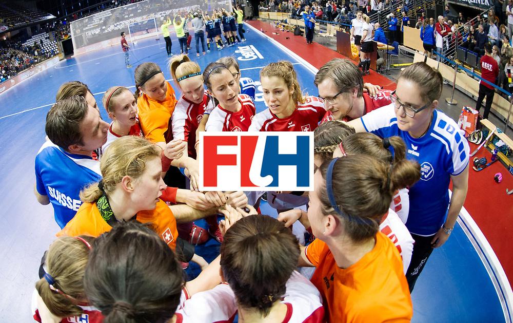 BERLIN - Indoor Hockey World Cup<br /> Quarterfinal 2: Ukraine - Switzerland<br /> foto:<br /> WORLDSPORTPICS COPYRIGHT FRANK UIJLENBROEK