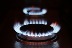 Embargoed to 0001 Wednesday June 28 File photo dated 18/01/12 of gas rings on a cooker at a home. The cost of household bills have risen twice as fast as salaries over the last decade, according to a study.