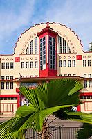 Singapour, Orchard Road, batiment art deco // Singapore, Orchard Road, art deco building