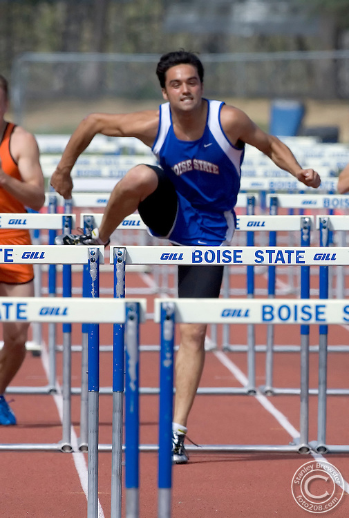 04-07-07 Boise, ID Dual Track and Field meet between Boise State and Idaho State.